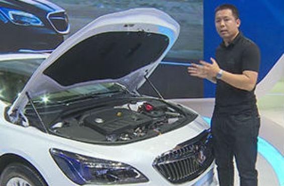2016北京车展上汽通用展台--全新一代别克君越30H混合动力