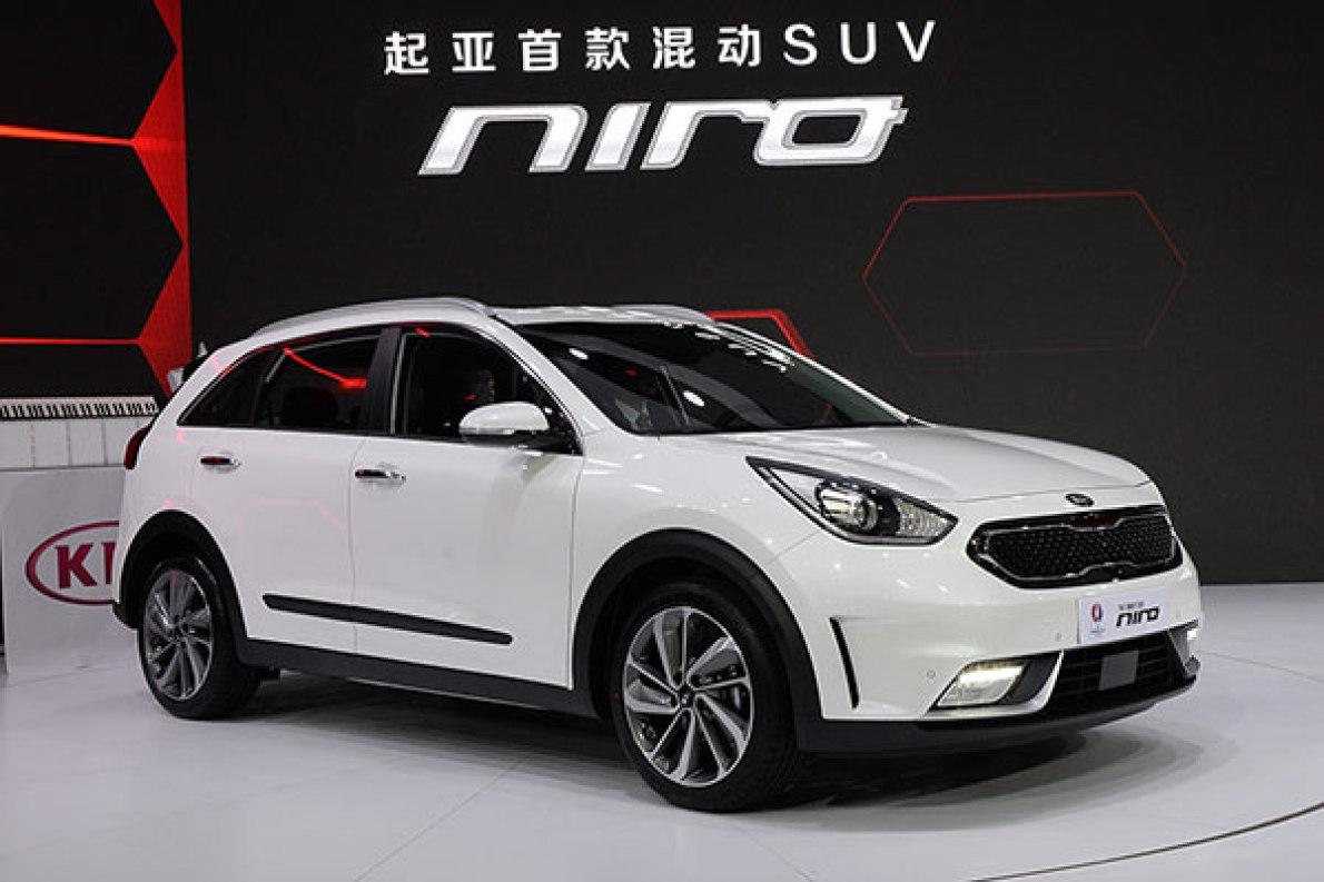 2016北京车展:起亚混动SUV-Niro实拍解析
