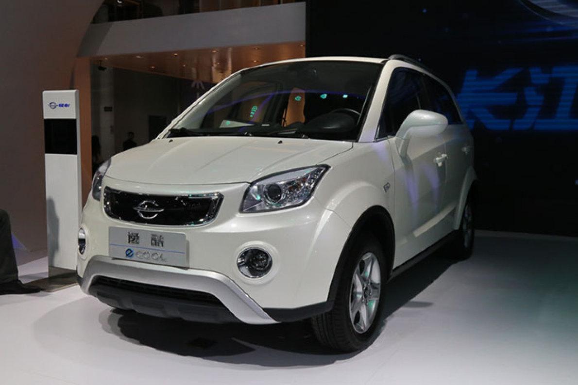 2016北京车展:长江EV逸酷实拍解析