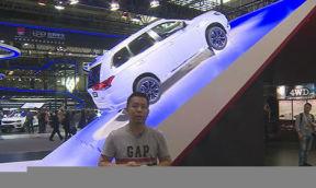2016北京车展三菱展台--欧蓝德插电式混合动力汽车