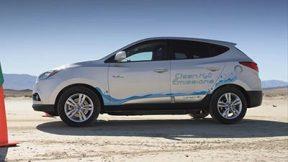 现代途胜ix35燃料电池-陆地速度记录