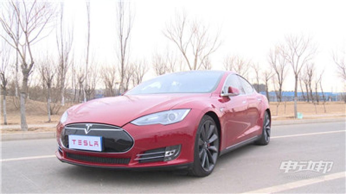 特斯拉Model S P85视频评测-驾驶篇