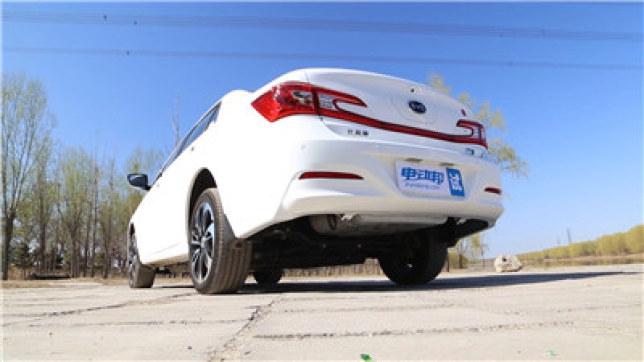 比亚迪秦EV300视频评测-外观篇