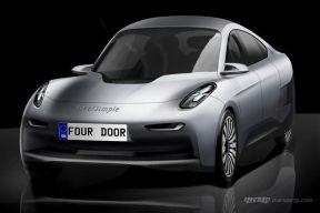 英国Riversimple发布两款燃料电池新车设计图