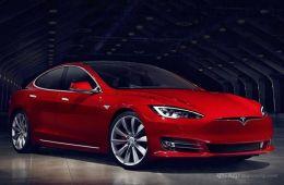 追尾前脸报废!钱柜娱乐平台Model S自动驾驶首撞!