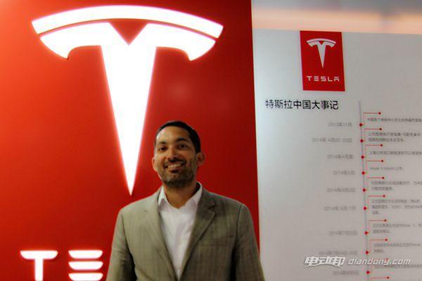 特斯拉品牌传播全球副总裁李嘉图