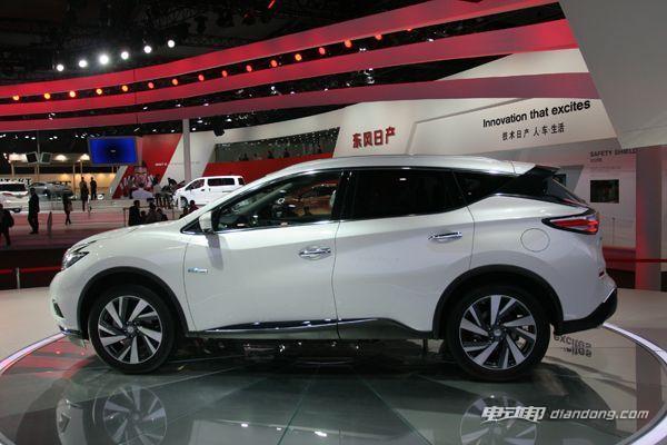 东风日产全球首发楼兰Hybrid车型 将以国产方式销售