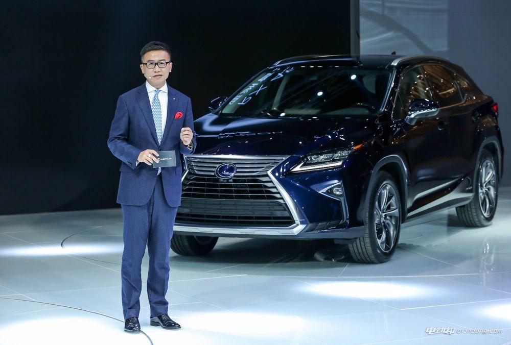 LEXUS雷克萨斯中国副总经理朱江先生介绍全新RX
