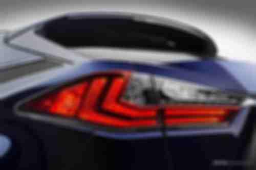 雷克萨斯RX 450h混合动力车型