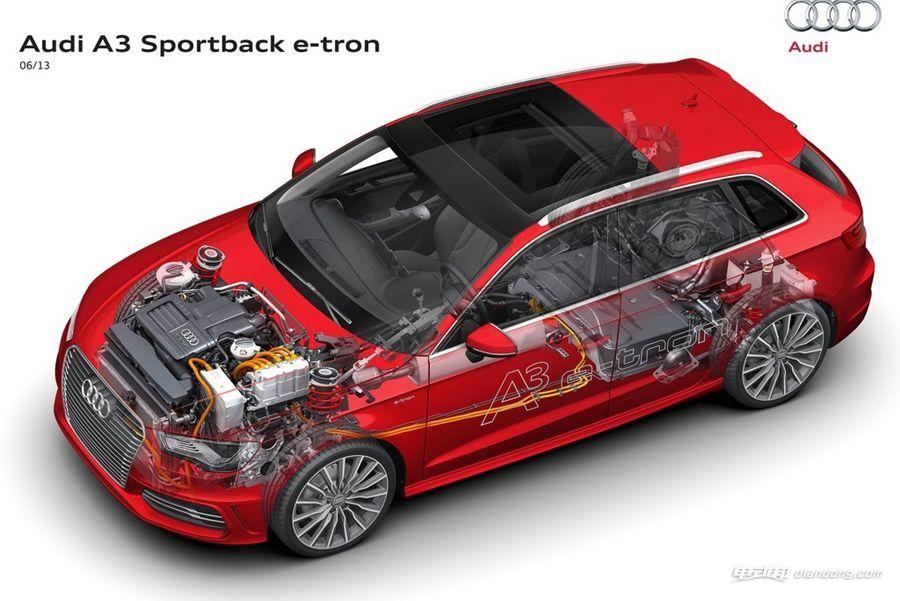 奥迪A3 Sportback e-Tron (7)