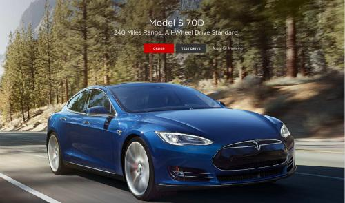特斯拉发布的「新车型」—— Model S 70D