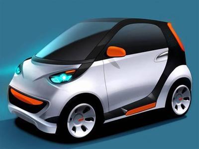1万以下电动小汽车高清图片