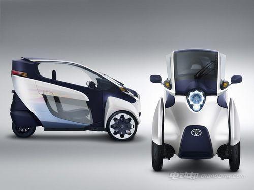 丰田超小型双人电动车i-ROAD将首发