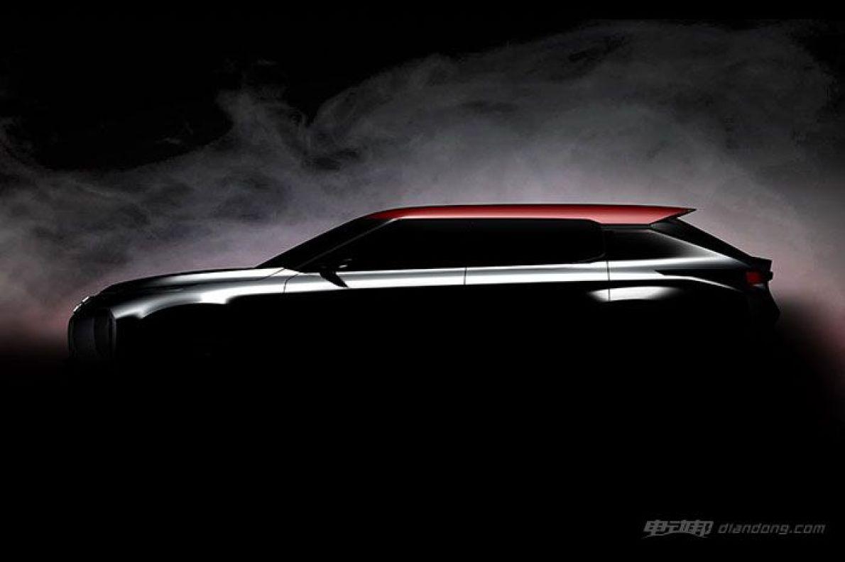 三菱新插电混动概念SUV设计图曝光