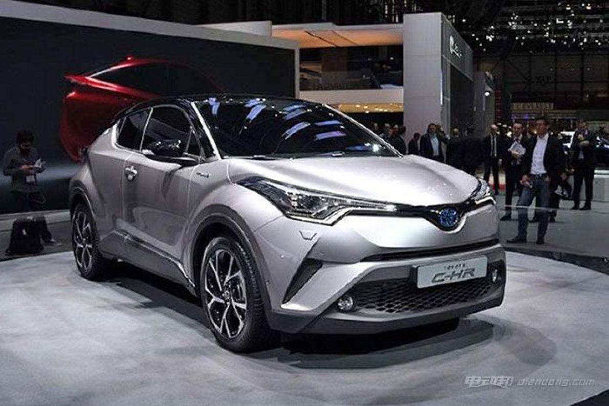 丰田C-HR量产版内饰官图 将推混合动力版