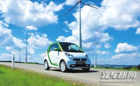 最小的电动汽车 试驾smart fortwo纯电动版