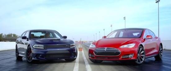 最快电动汽车VS.最快轿车 谁是速度之王?