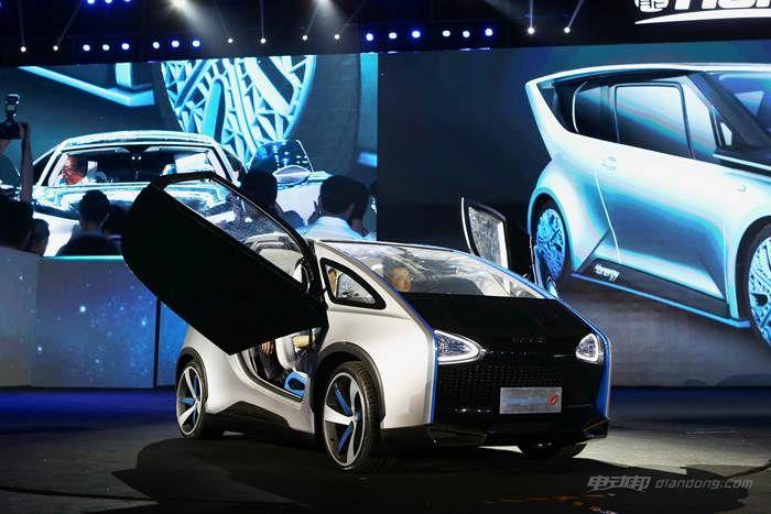图五:汉能全太阳能动力汽车Solar O