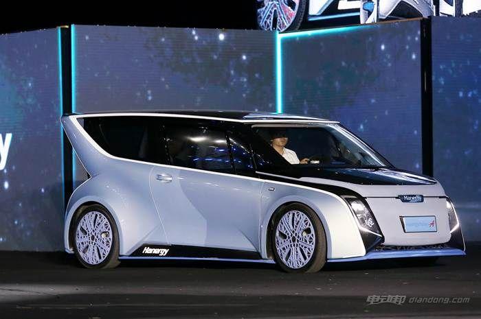 图七:汉能全太阳能动力汽车Solar A