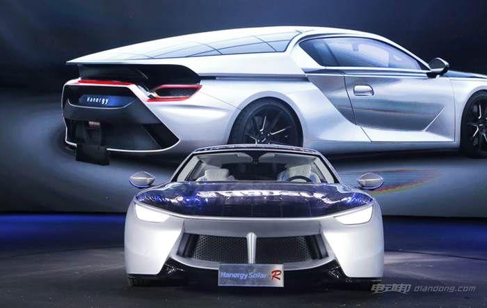 图八:汉能全太阳能动力汽车Solar R
