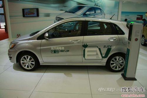 北汽C30DB电动汽车的生产