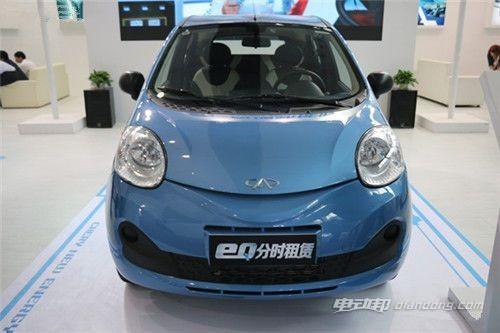 奇瑞eQ双版新能源车将亮相7月15北京新能源车展!