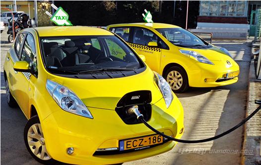 全球电动汽车销售额2021年前有望达580亿美元