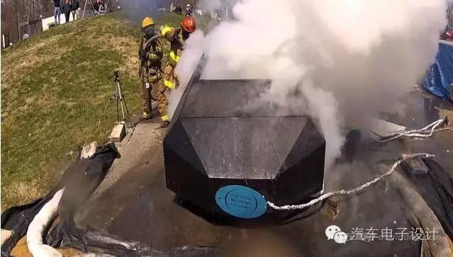 聊一聊电动汽车的消防灭火