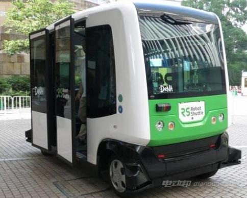 日本自动驾驶公交车下月在公园内投入运营