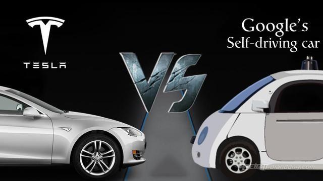 自动驾驶战争打响!特斯拉谷歌到底哪家强?