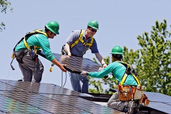 可再生能源产业为加州提供 3 万个工作岗位