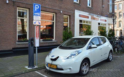 日产在英国推出电动汽车试点 车主可出售多余电量