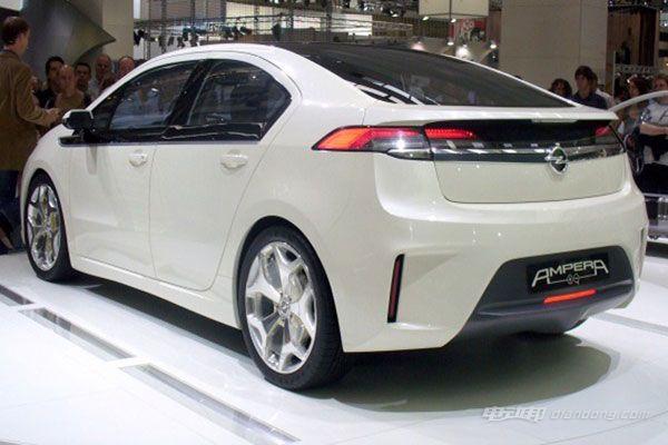 欧宝经济电动汽车Ampera-e明年量产