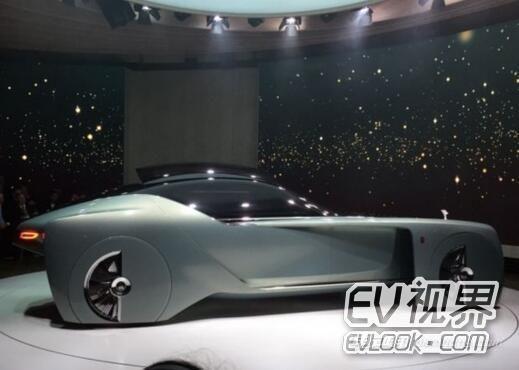 一百年后的奢华 劳斯莱斯新概念车发布
