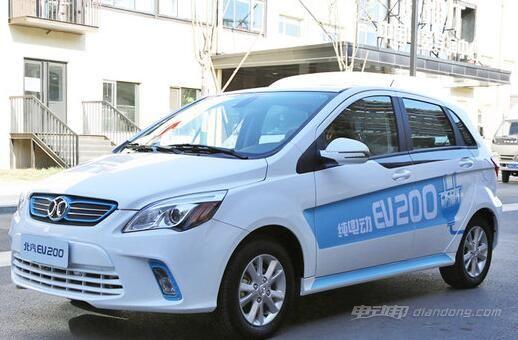 北汽新能源汽车-北汽EV160