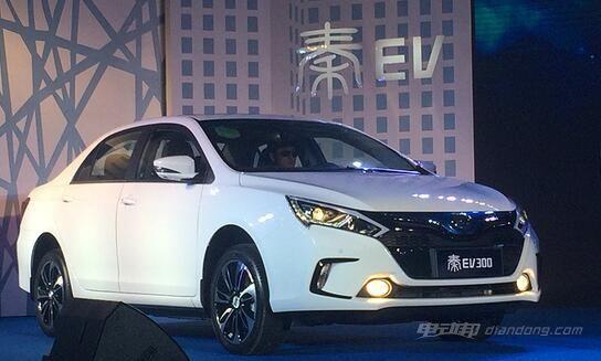 比亚迪秦-EV300