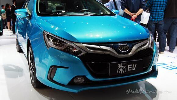 比亚迪秦-EV300-外观