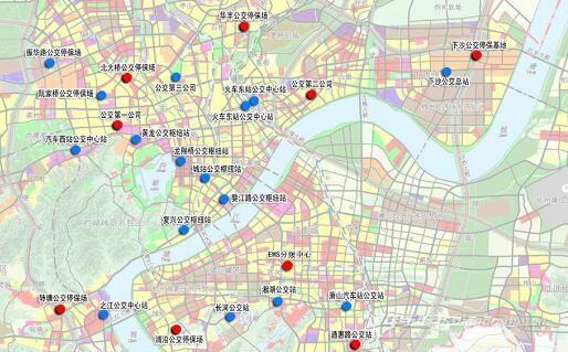 杭州市电动汽车充电设施近期布点规划