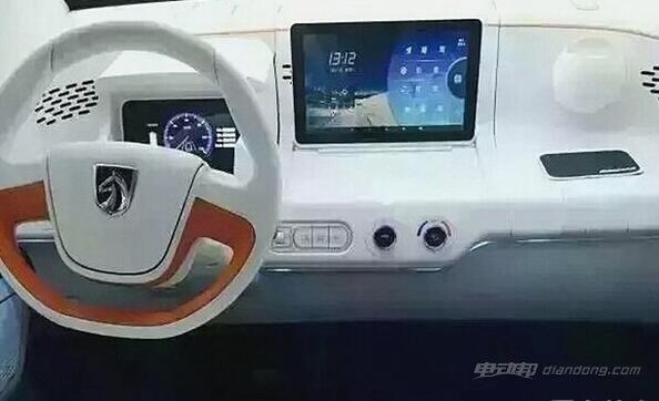 宝骏E100纯电动 内饰