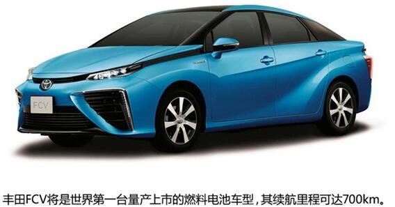 汽车基础知识 新能源汽车类型介绍:燃料电池电动车型