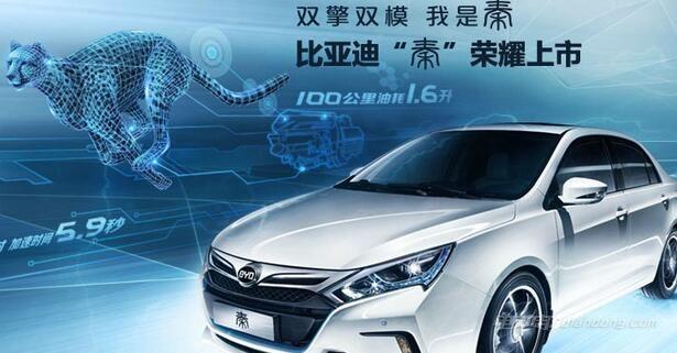 电动汽车有哪些品牌 :比亚迪BYD