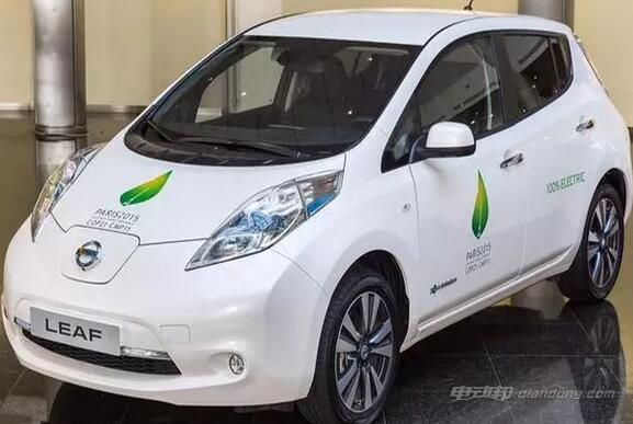 电动汽车有哪些品牌:NISSAN日产