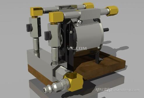特斯拉涡轮机:特斯拉泵