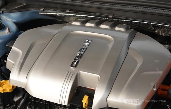 荣威550 plug-in电动汽车:动力方面