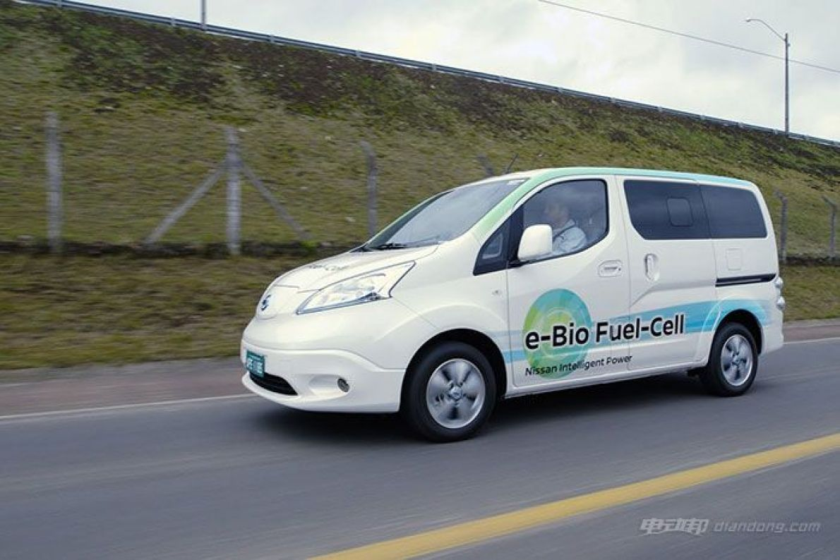 日产发布乙醇燃料电池车 续航600公里以上
