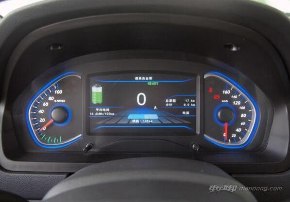北汽EV200 仪表盘