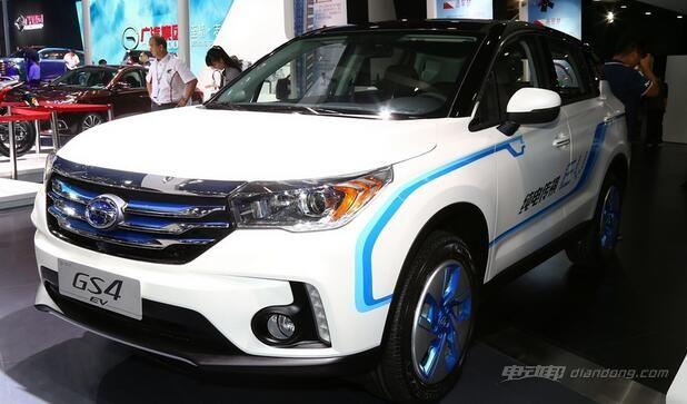 电动汽车续航排名:广汽传祺GS4 EV