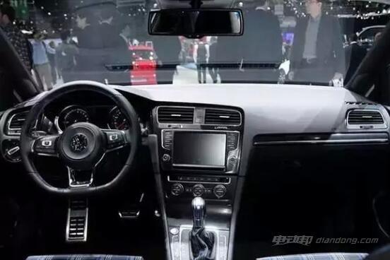 Golf GTE 内饰