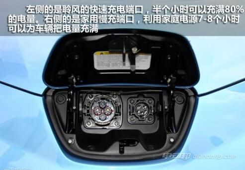 日产聆风电动汽车 2