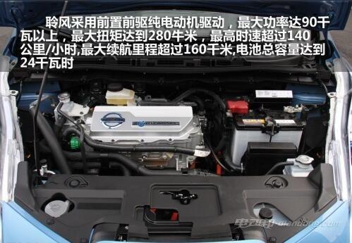 日产聆风电动汽车 3
